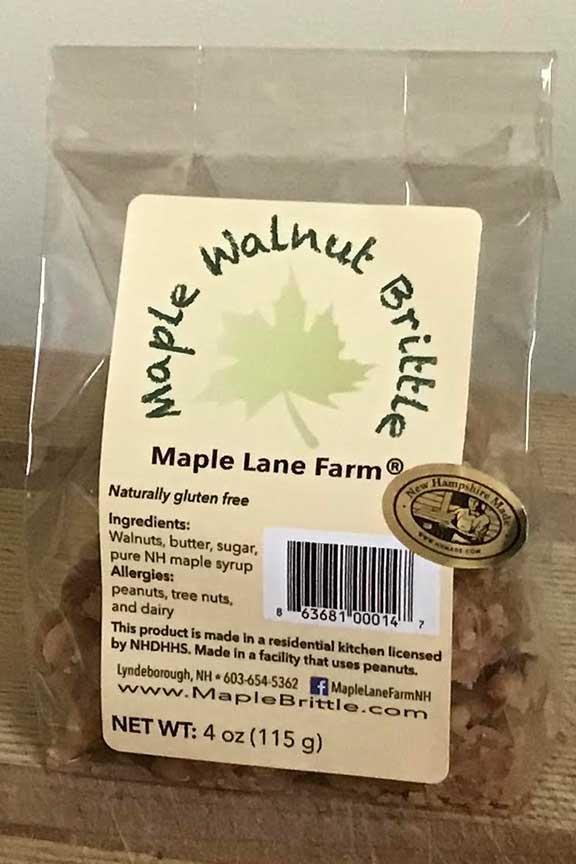 Maple Walnut Brittle